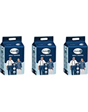"""Kare In Adult Diapers Large 10 Count, Waist Size 101-139cm (40""""-55"""")-Pack of 3 (30 Counts)"""