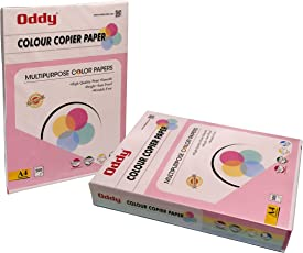 Oddy A4 Size Yellow Color Paper For Laser Jet & inkjet - 500 Sheets