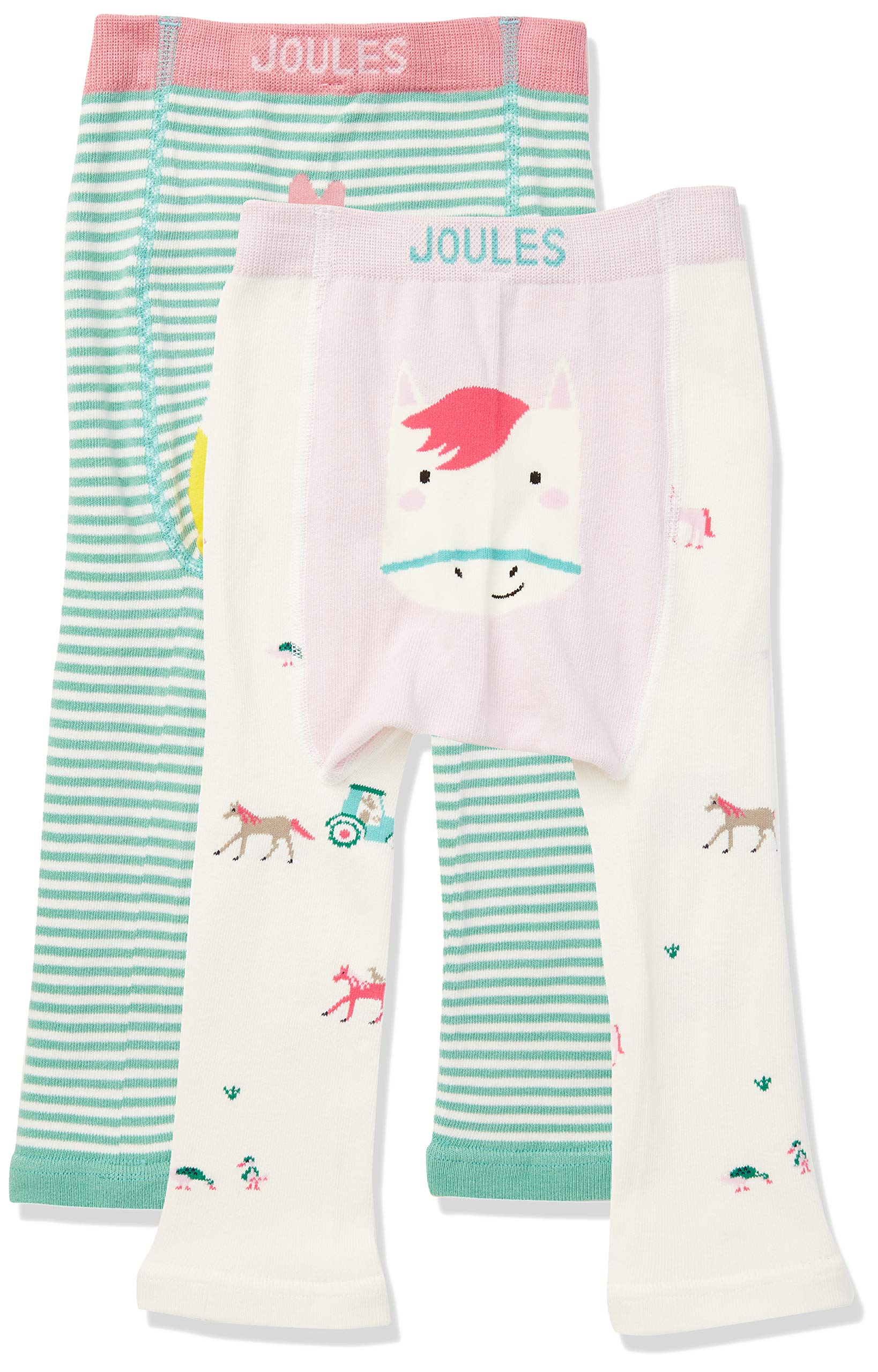 Joules Lively Leggings para Bebés, (Pack de 2) 3