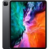 "Apple iPad Pro 12.9"" (2020 - 4th Gen), Wi-Fi + Cellular, 512GB, Space Gray, International Version [With Arabic Language/Keybo"