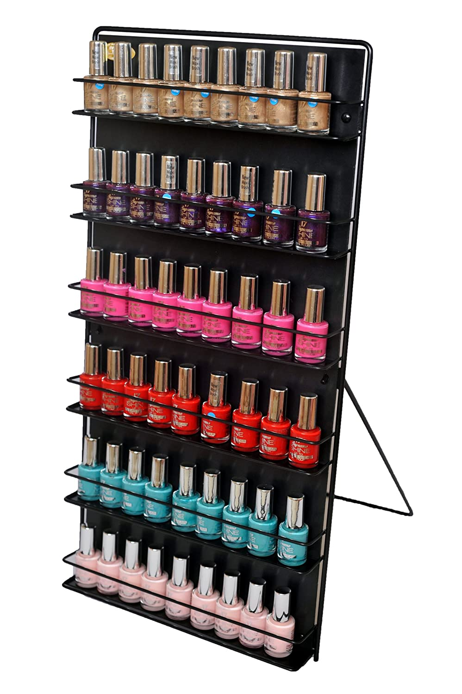 Uncategorized Nail Varnish Organiser nail polish rack white amazon co uk kitchen home
