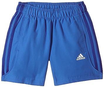 pantaloni adidas corti blu