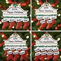 Décoration de Noël personnalisée avec une boule d'arbre de Noël | Famille de manteaux | Groupes 2,3,4,5,6,7 et 8…
