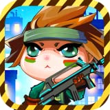 CLASH OF CUTE 2 : Boom Babes Girl Run - from Panda Tap Games