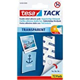 tesa TACK 72 PCS, Transparant