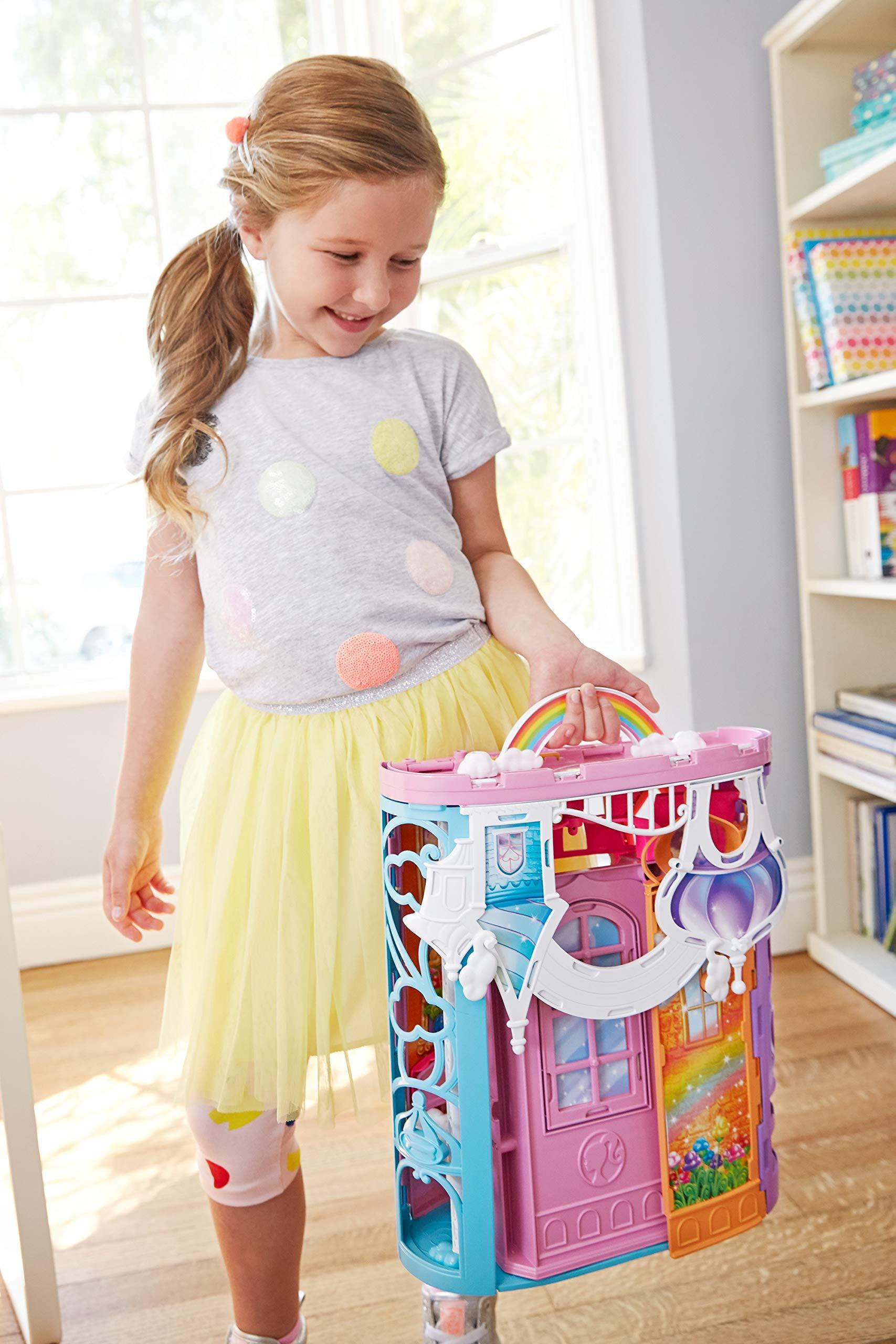 Barbiepuppen & Zubehör /Mattel Puppen & Zubehör Mattel FTV98 Barbie Dreamtopia Schloss