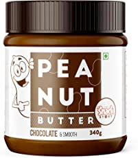 The Snack Story Chocolate Peanut Butter, Smooth, 340g