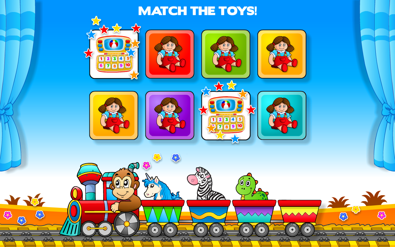 Preschool All-In-One Basic Skills: Adventure with Toy Train Vol 1 ...