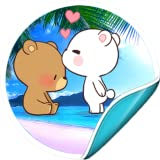 Lovely Bears Stickers For Whatsapp - WASticker