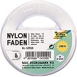 Folia Nylondraad, op Spoel, 0,50 mm x 100 m, Draagkracht 7,5 kg, Transparant