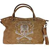 fashion&DU TOTENKOPF skull Hand Tasche Schultertasche Umhängetasche Beuteltasche Shopper XL