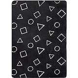 Amazon Basics, Tappetino in schiuma, con stampa, motivo forme geometriche - 140 x 200 cm