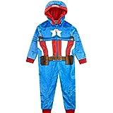 Marvel Pijama Entera para niños Captain America
