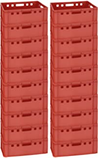 10 Stk Metzgerkisten Fleischerkiste Metzgereiausstattung E1 60x40x13 Gastlando