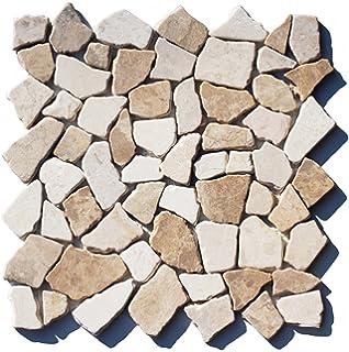 Antikmarmor M-014 Bruchsteinmosaik Fliesen Lager Stein-mosaik Herne NRW