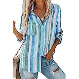 Vero Moda Vmmaria LS Dnm Slim Shirt Mix Ga Noos Ci Camisa ...