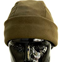 OUTLET MILITARY Cappello Tondo in Pile Antipilling Verde