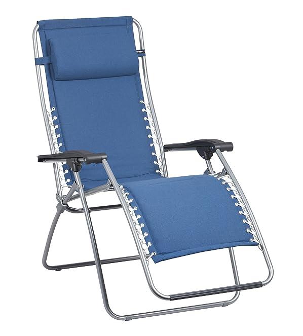 Lafuma LFM2001-4258 Relax Deck Chair RSX Polycotton  Foldable u0026 Adjustable Clay Ardoise (Dark Grey) Amazon.co.uk Garden u0026 Outdoors  sc 1 st  Amazon UK & Lafuma LFM2001-4258 Relax Deck Chair RSX Polycotton  Foldable ... islam-shia.org