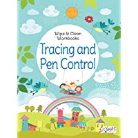 Tracing and Pen Control - Wipe & Clean Workbook with free Pen