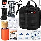 Taktisk nödläge första hjälpen-kit – MOLLE Admin påse IFAK-sår försvagning blodkontroll EMT överlevnad trauma kit-läger resor