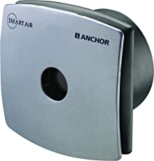 Anchor Smart Air V01 150 mm Exhaust Fan (Steel Grey)