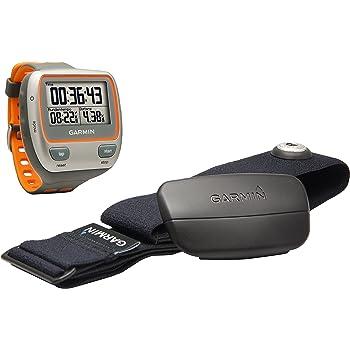 Garmin - Forerunner 310XT - Montre GPS multisports - Gris/Orange