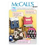 McCall's Patterns M7207 Backpacks Sewing Template, One Size Only