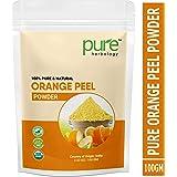 Pure Herbology Pure & Natural Orange Fruit Peel Powder for Skin Whitening, 100gm
