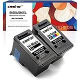 CSSTAR Rigenerate Cartucce d'inchiostro Compatibili per 545 546 PG-545XL CL-546XL per Pixma MG2550S MG2950 MG2450 MG3050 MG30
