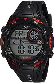 Sonata Fibre  SF  Digital Black Dial Men's Watch NM77068PP01 / NL77068PP01