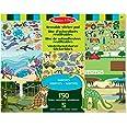 Melissa & Doug | Bloc D'Autocollants Réutilisables |Stickers | Pour garçon ou fille | Habitats