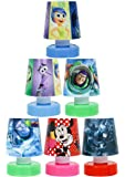 Shopkooky Birthday Gift for Kids/Boys/Girls Cartoon Printed LED Night Lamps Perfect for Your Room - Pack of 6 (Units)