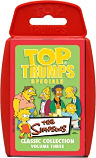 Single Cards *MULTI-BUY OFFER* Top Trumps Specials THE SIMPSONS HORROR EDITION