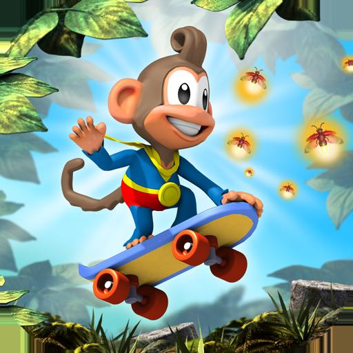 Affen Fliegende Kostüme (Chimpact Run - (Family edition no)