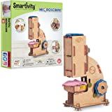 Smartivity Microscope 100x Zoom Science STEM DIY Fun Toys, Educational & Construction based Activity Game for Kids 8 to 14, G