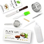 Plate up! Food Presentation Kit - Elevate Your Food Presentation - Perfect Gift for Aspiring Master Chefs