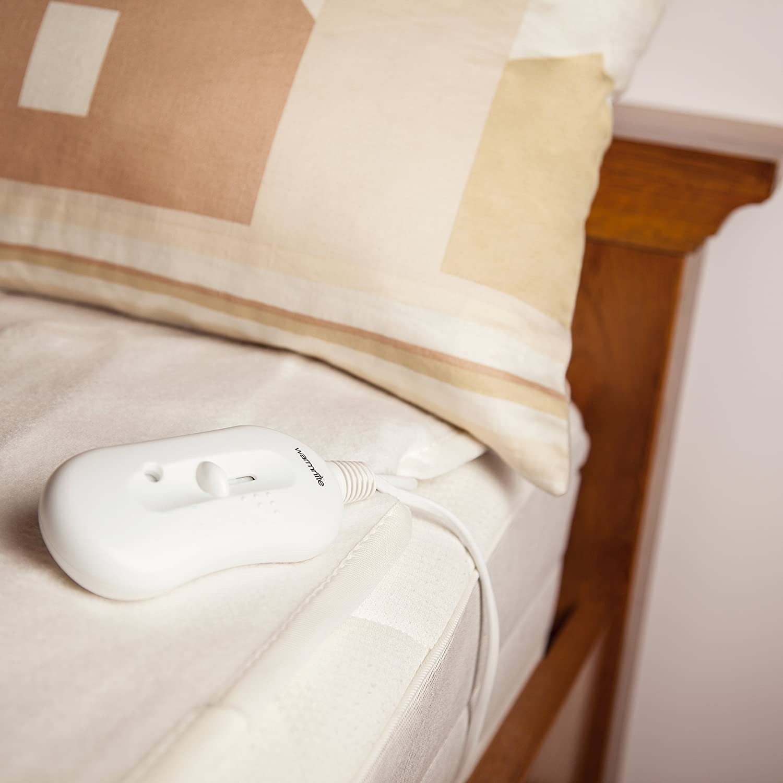 Warmnite WN49003 King Size Under Electric Blanket, 70 W - White:  Amazon.co.uk: Kitchen & Home