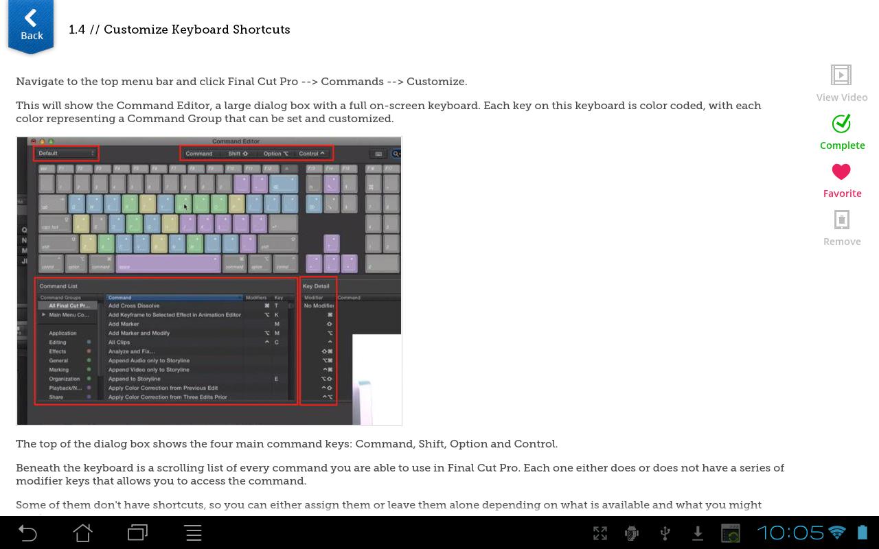 Learn Final Cut Pro X: Amazon.de: Apps für Android