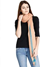 FabSeasons Solid Acrylic Woolen Scarf, Scarves, Stole and Shawl for Men & Women for Winters, Size - 90 * 200 cms