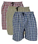 BIS Creations Men's Cotton Combo Of 3 Shorts