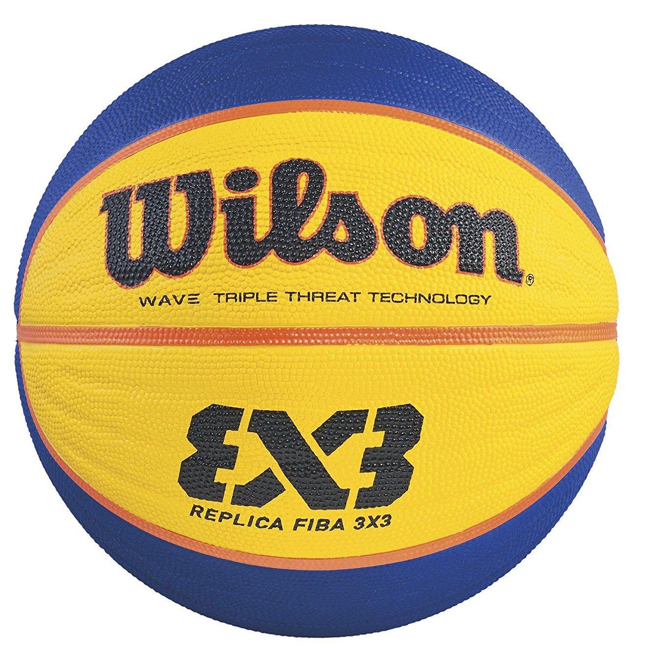 Wilson Fiba - Pelota, color naranja, talla 6