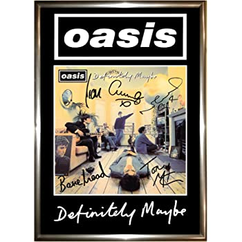 Oasis Noel Liam Gallagher Large Poster Wall Art Print A0 A1 A2 A3 Maxi