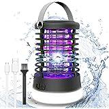 ROVLAK Lampe Anti-Moustique Bug Zapper Électronique Lampe 2 en 1 Portable Camping Moustique Lanterne Electronic Insect Killin