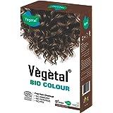 Vegetal Semi Permanent Hair Dye, Bio Color Organic Dark - Brown