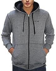 Scott International Men's Cotton Blend Hooded Sweatshirt
