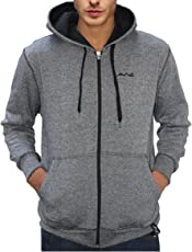 Scott International Men's Cotton Blend Hooded Sweatshirt