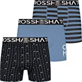 Crosshatch Mens Boxers Shorts Multipacked 3PK Underwear Gift Set 3 Pack Saunton