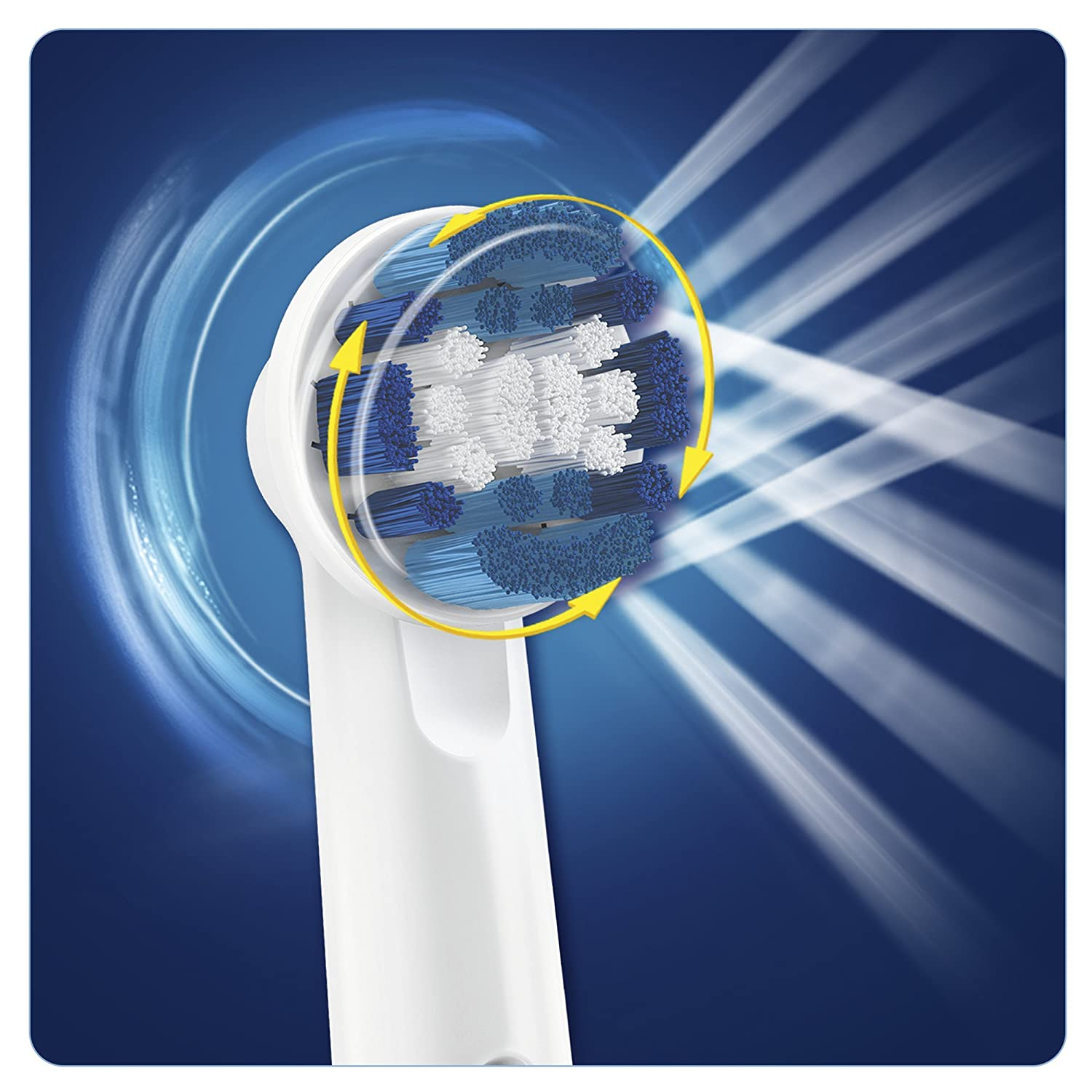 Oral-B PrecisionClean Electric Toothbrush Replacement Heads ...