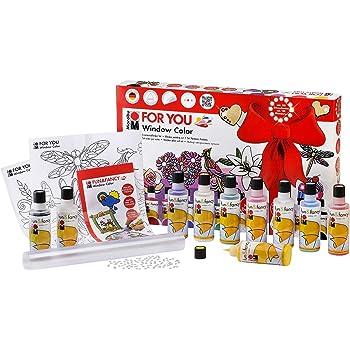 Marabu 040600116 - Window Color Set-For You, 80 ml