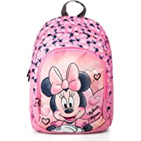Disney Zainetto Zaino Scuola Elementare Medie Bambina Ragazze Minnie Mouse Rosa 38 x 27 x 11 cm